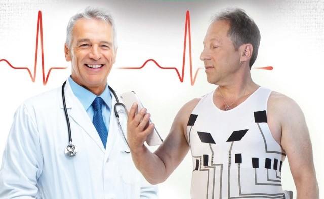 Линия топов и футболок hWear, разработанная компанией Healthwatch Technologies имеет вшитое стекловолокно