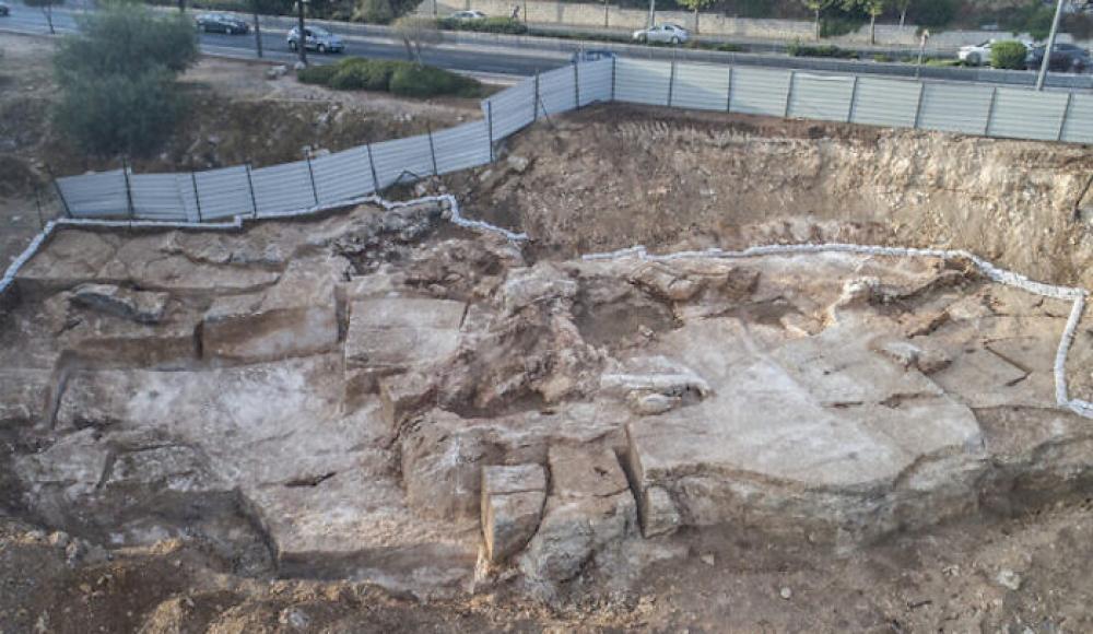 Обнаруженный в Иерусалиме 2000-летний карьер мог быть источником камней для строительства Второго храма