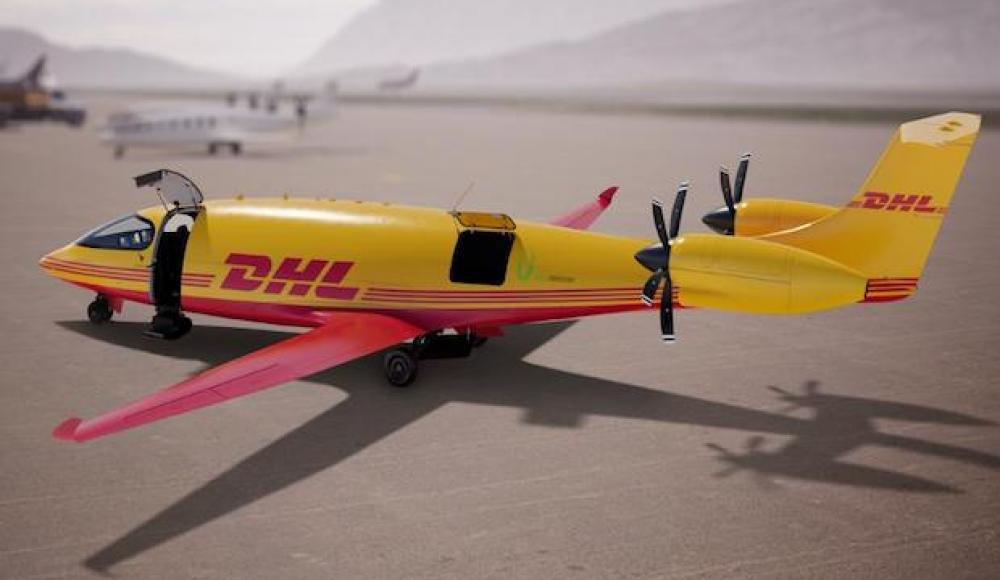 DHL будет доставлять грузы израильскими электросамолетами