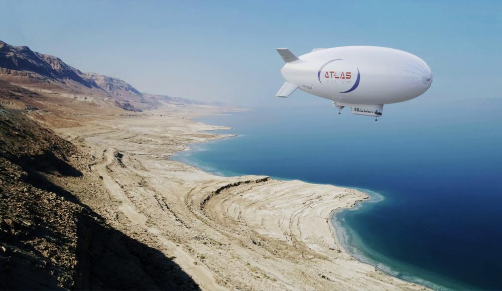 В Израиле строят экологически чистые дирижабли для воздушного туризма