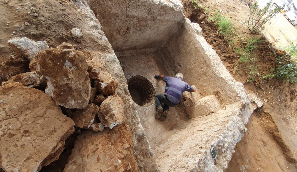 В результате раскопок в Рамат ха-Шароне обнаружено древнее поселение возрастом около 1500 лет