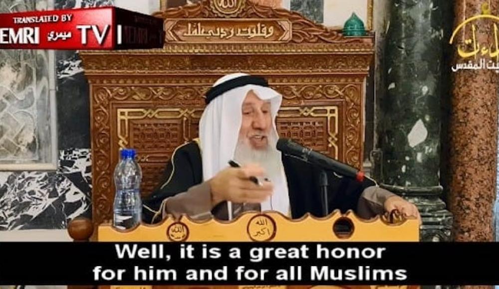 Палестинский шейх призвал талибов объявить халифат и «освободить» Иерусалим