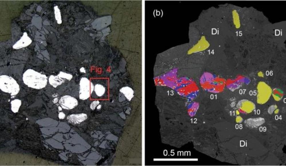 В районе Мертвого моря обнаружили минерал, известный ранее только в метеоритах