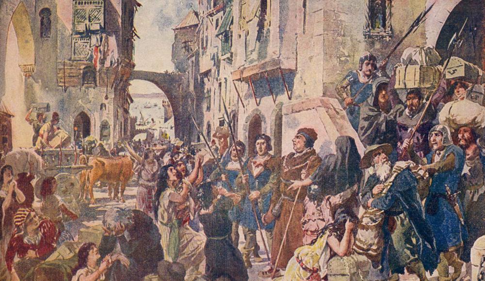 Проклятый король и изгнанники