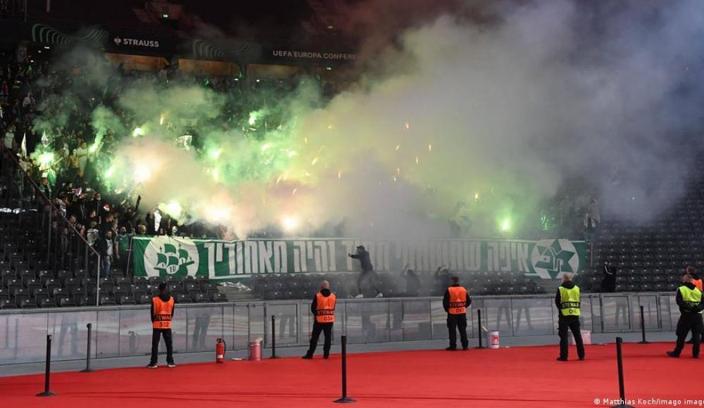Болельщиков хайфского «Маккаби» атаковали антисемиты на матче УЕФА в Берлине