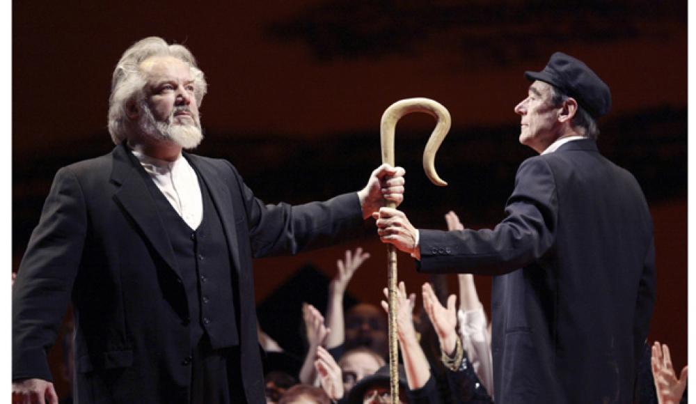 «Моисей и Аарон» — ответ Шенберга Вагнеру