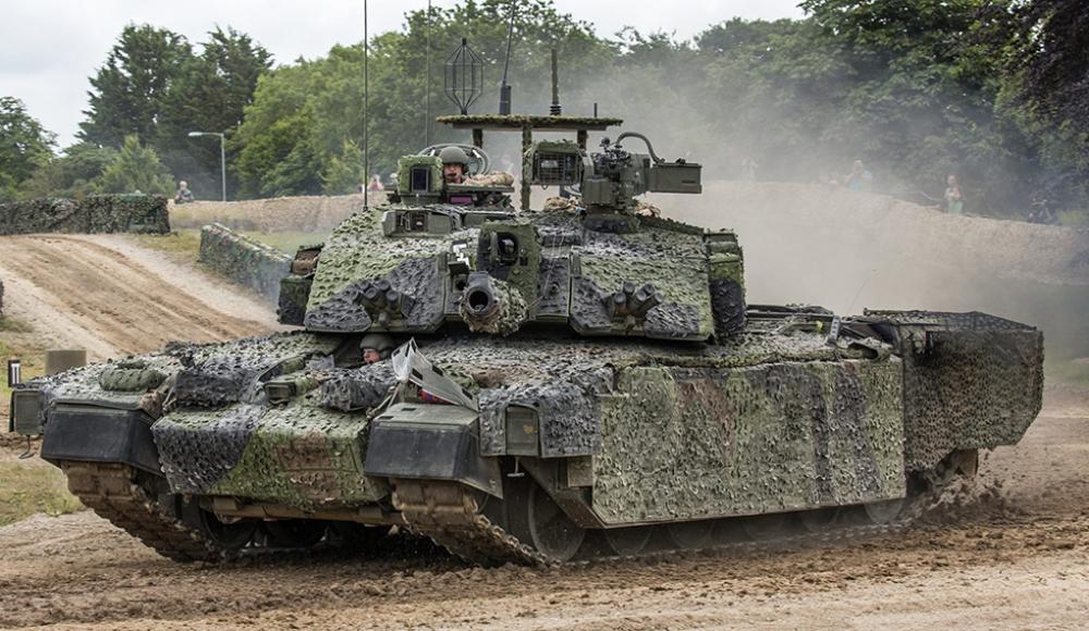 Британские танки Challenger 3 получат израильские «Ветровки»