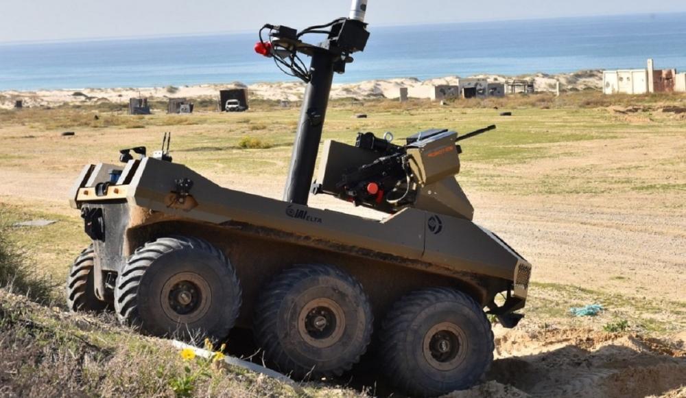 Границу с Сектором Газа патрулируют боевые роботы