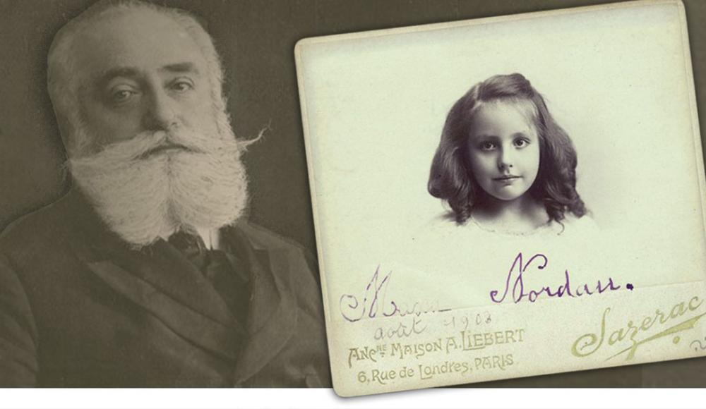 Семья Нордау: отец и дочь