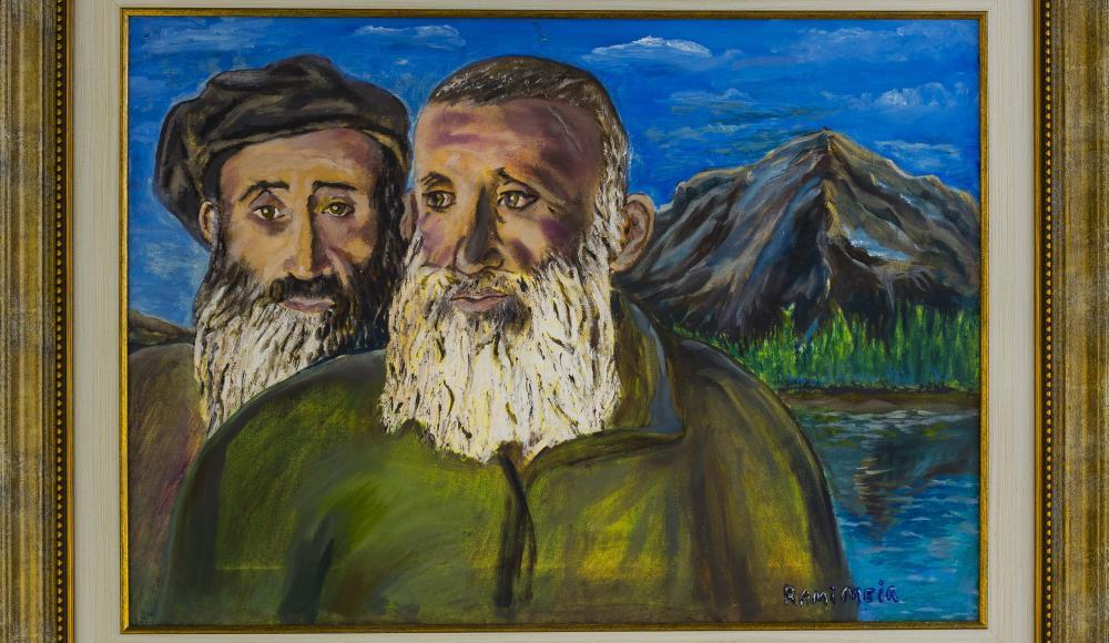 Картина горско-еврейского живописца Рами Меира — в собрании Государственного музея Востока
