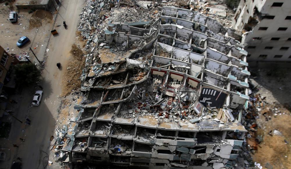 В разбомбленном Израилем здании Associated Press ХАМАС разрабатывал систему помех для «Железного купола»