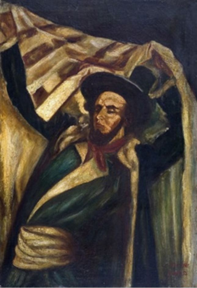 Rabbi with talith , 1939–1945.JPG