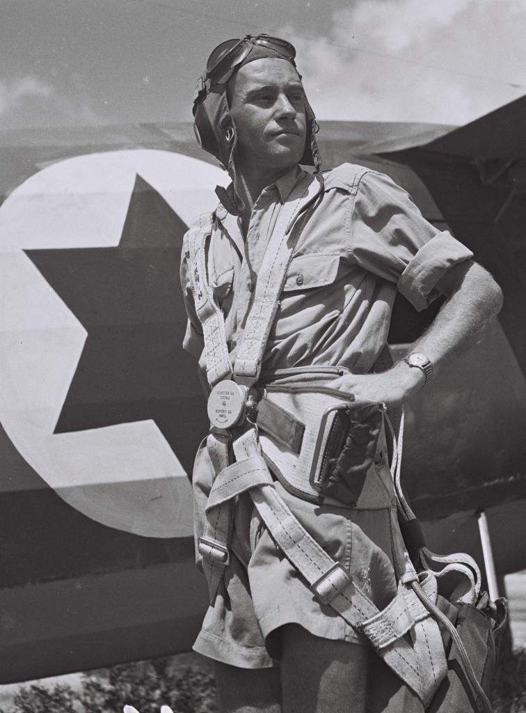 Пилот ВВС Израиля, 1949.jpg