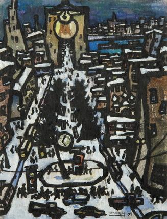 Оскар Рабин. Москва. Трубная площадь. 1961.jpg