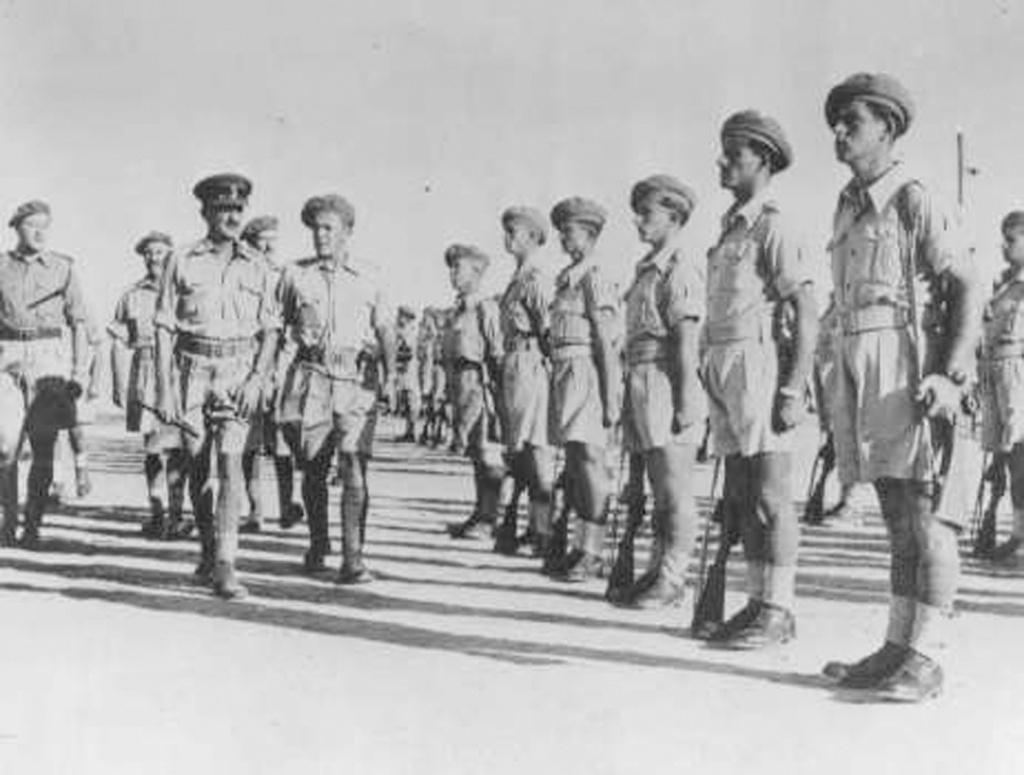 бенджамин осматривает 2 батальон.jpg