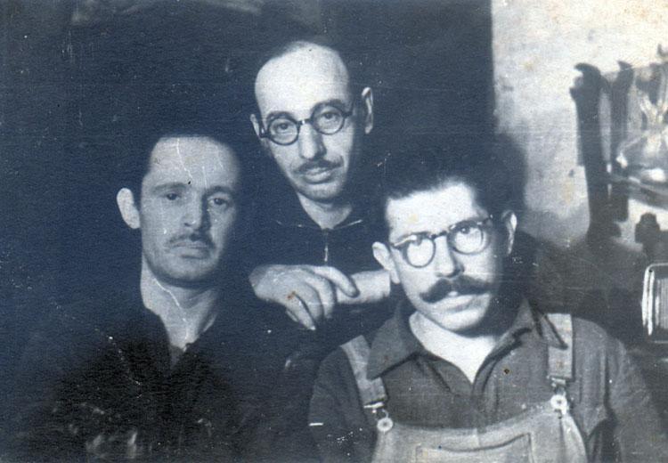 В подвале у Седулса. 1944 год.jpg
