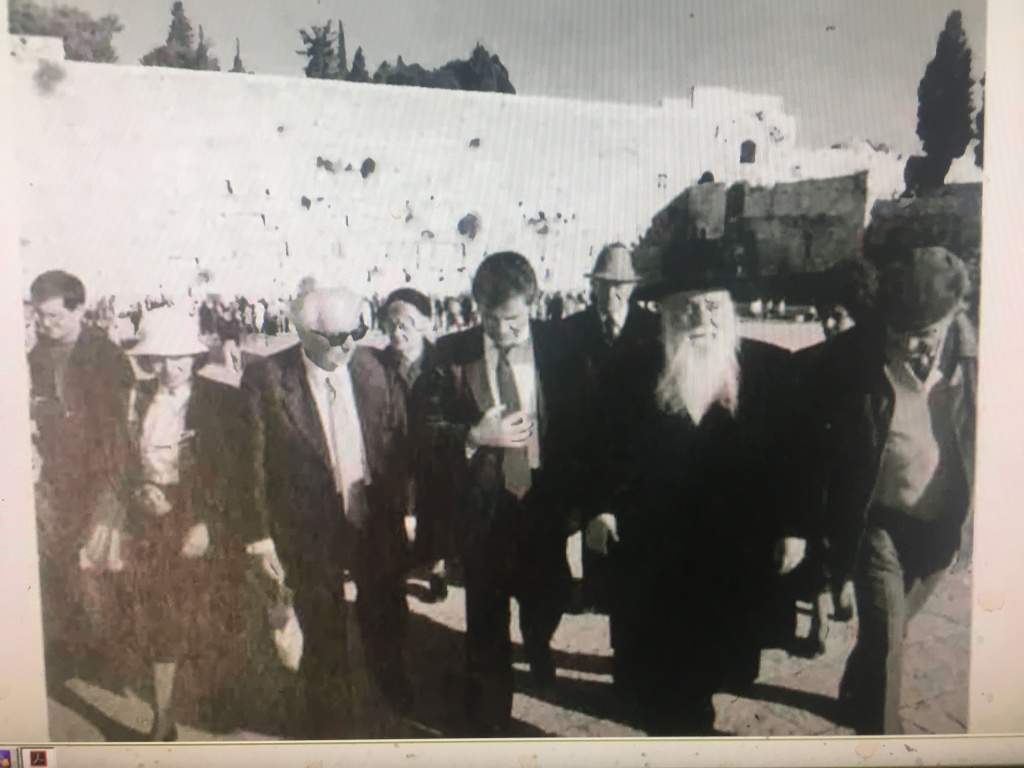 Франкл в Иерусалиме, ради второй бар-мицвы.JPG