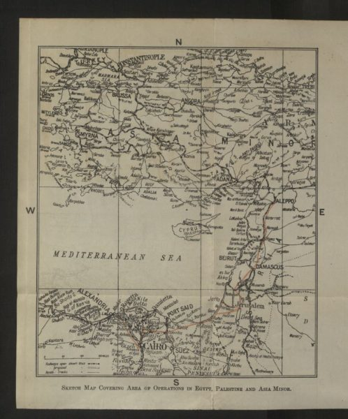 Карта маршрута следования эскадрона в Палестине.jpg